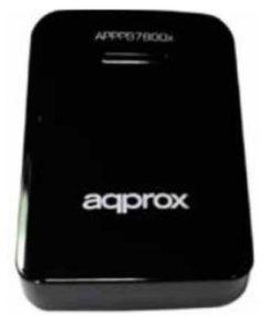 APPROX POWER BANK 7800mA BLACK ΦΟΡΗΤΟΣ ΦΟΡΤΙΣΤΗΣ