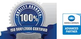 Epsilon Teledata  έχει πιστοποιηθεί με ISO 9001:2008 Certified