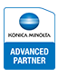 Epsilon Teledata είναι  Konica Minolta Advanced Partner